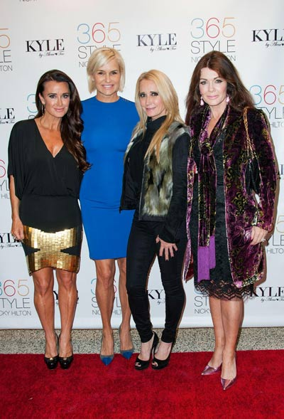 "Nicky Hilton's ""365 Style?"" Book Party For The Filming Of ""The Real Housewives Of Beverly Hills"""